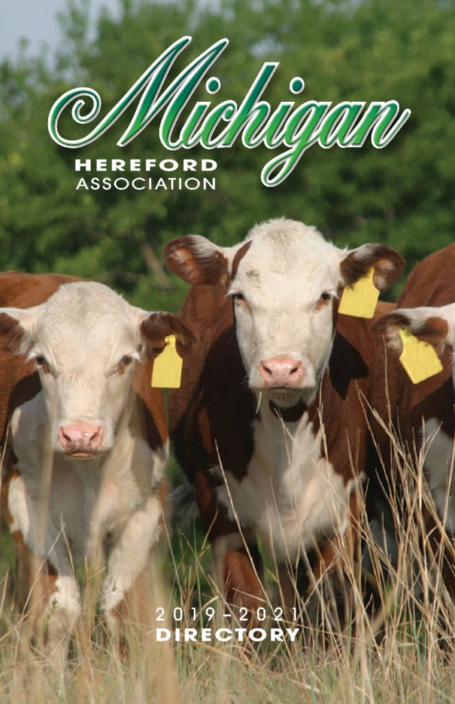 2019 MI Hereford Directory